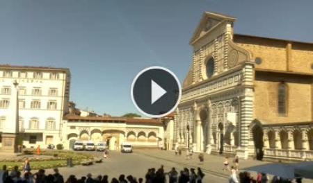 Live Cam Florence - Piazza della Signoria   Florence Italy City Cam