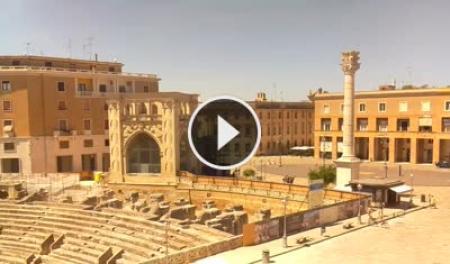 Webcam Lecce, Piazza Santo Oronzo - Skyline Webcams