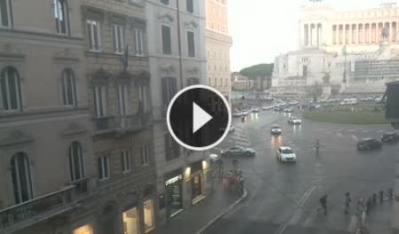 Webcam Roma, Via del Corso - Skyline Webcams