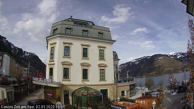 Grand Hotel Zell Am See Webcam