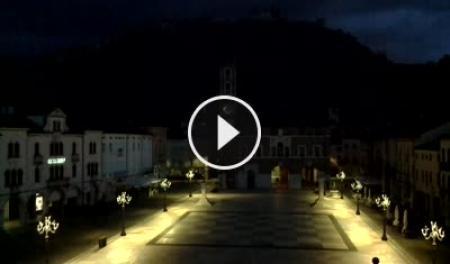 Webcam Marostica, Piazza degli Scacchi - Skyline Webcams