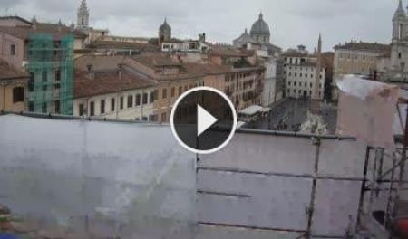 Webcam Roma, Piazza Navona - Skyline Webcams