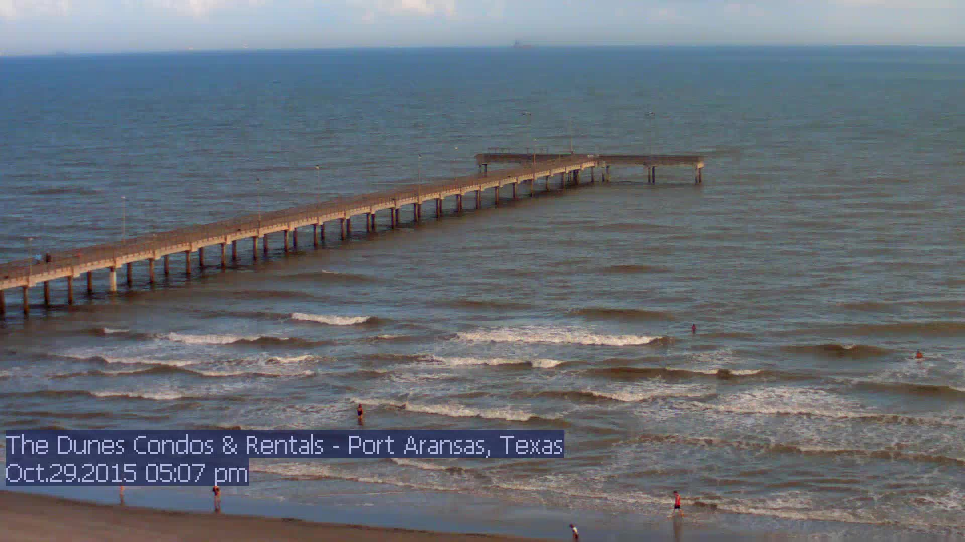 Webcam port aransas texas port aransas beach cam for Port a texas