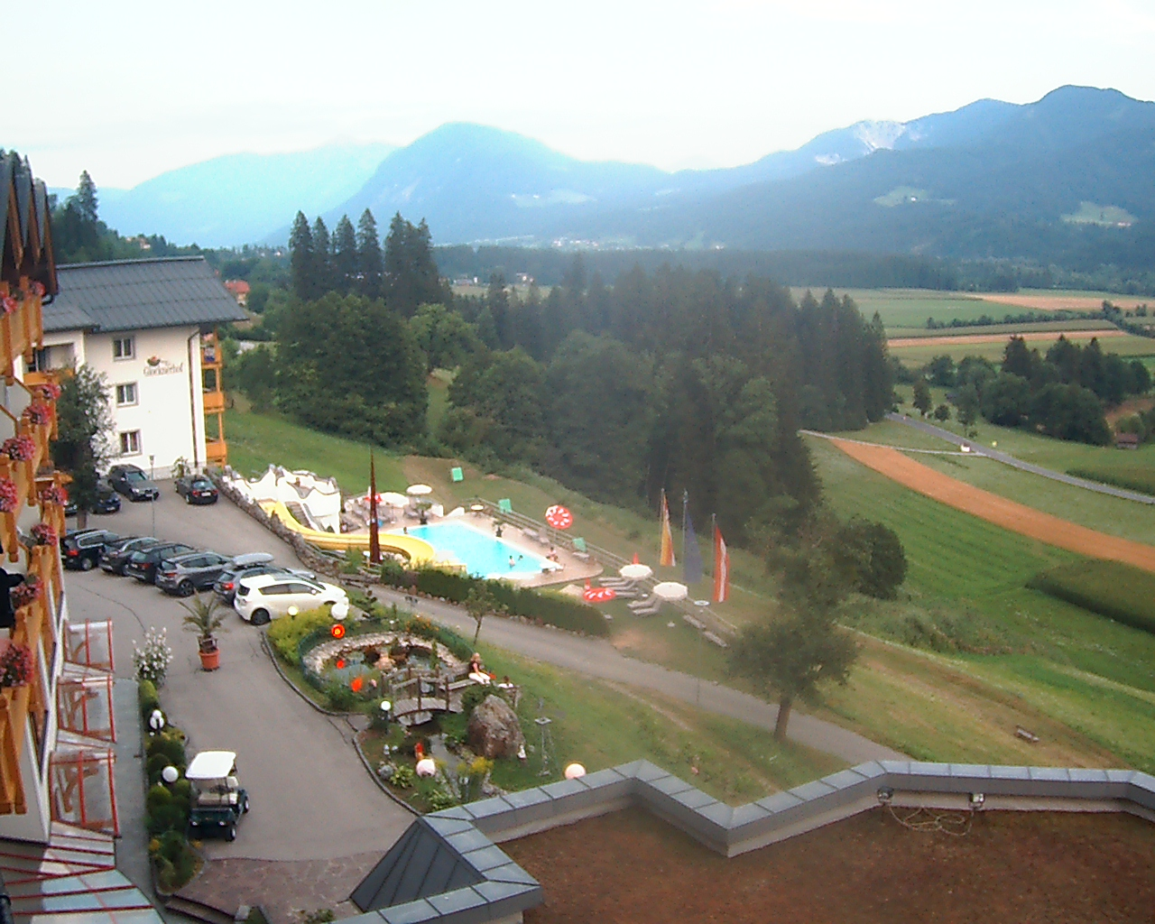 Berg im Drautal Austria  city photos gallery : Berg im Drautal in diretta! Webcam e Hotel Berg im Drautal, Austria ...