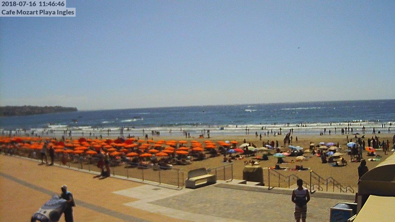 playa de maspalomas gran canaria webcam