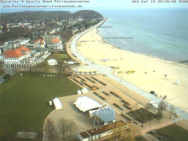 webcam travemünde casino und strand