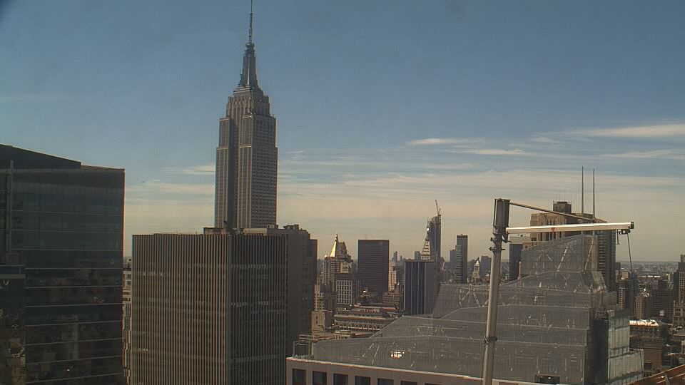 new york city new york empire state building webcam galore. Black Bedroom Furniture Sets. Home Design Ideas