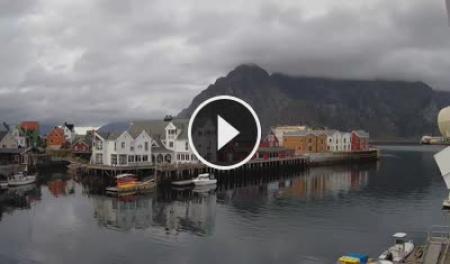 Webcam Porto di Henningsvær (Lofoten)