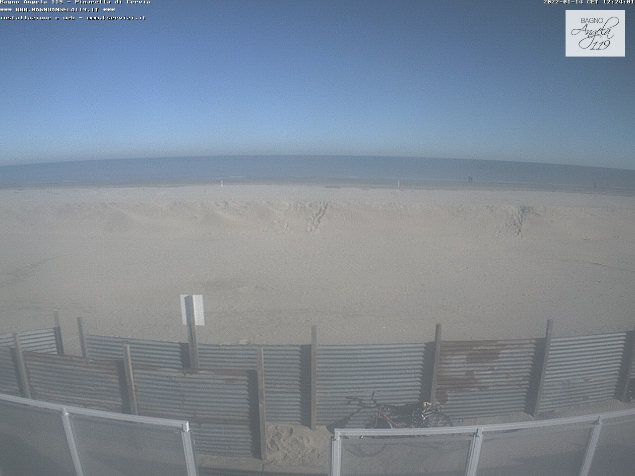 Pinarella di cervia bagno angela strand webcam galore - Bagno palm beach pinarella ...