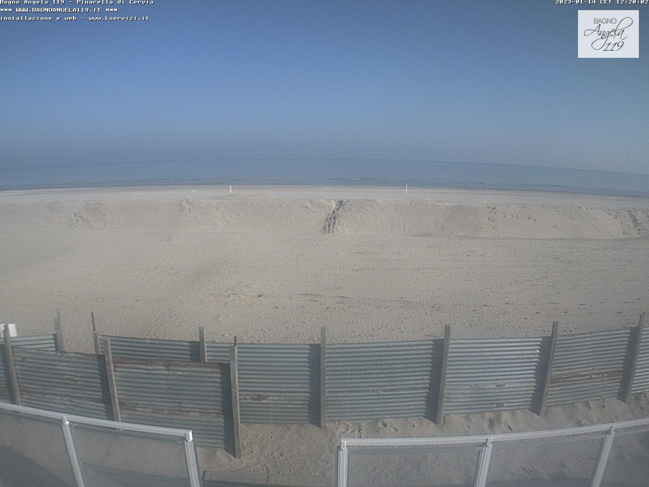 Pinarella di cervia bagno angela strand webcam galore - Bagno palm beach pinarella ...