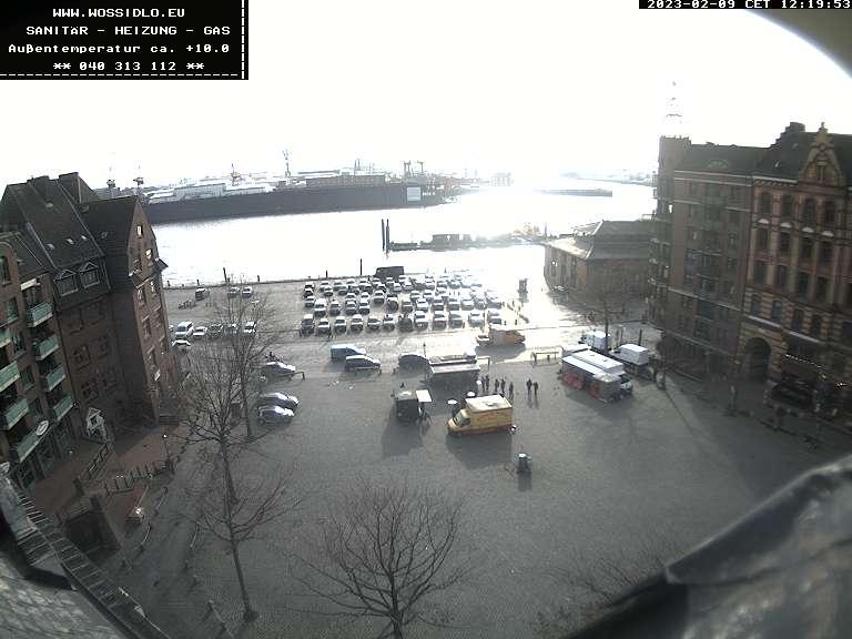 Webcam Hamburg Fischmarkt