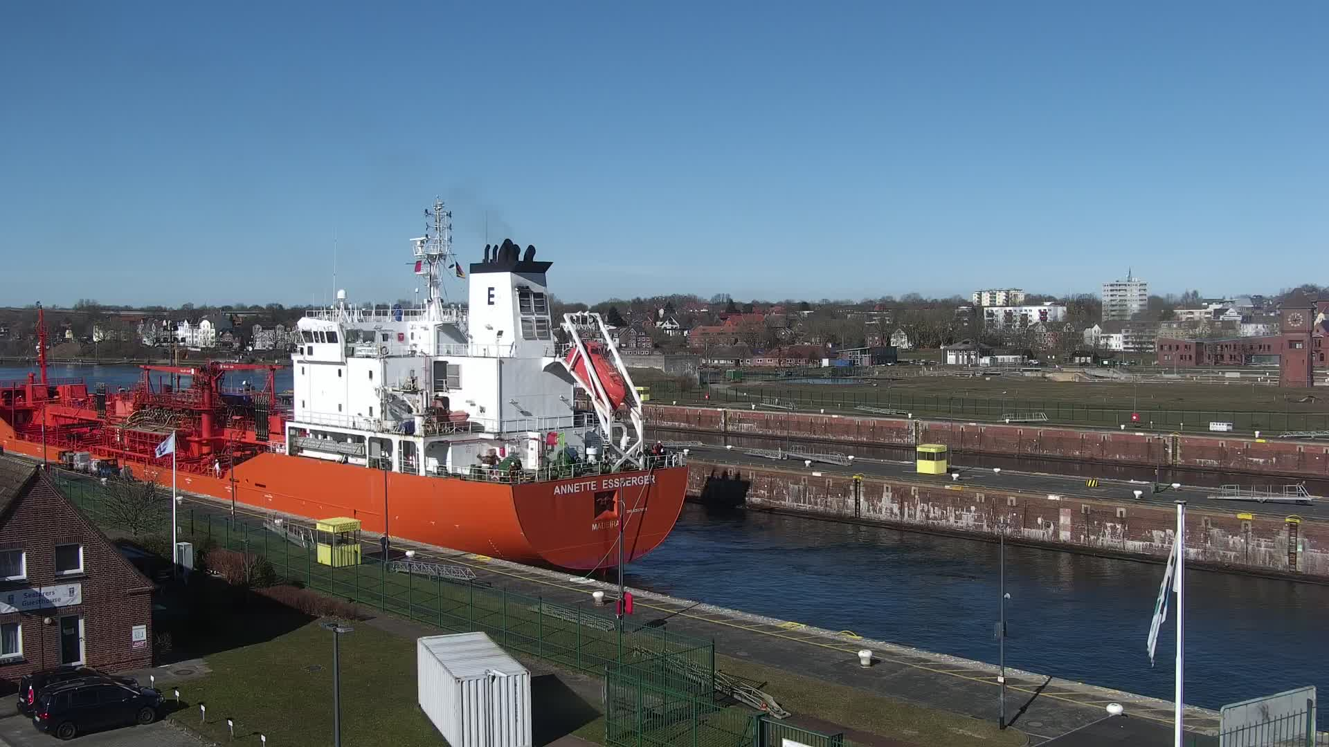 Kiel Schleuse Webcam