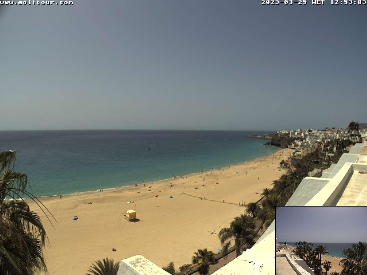 Jandia (Fuerteventura): Strand von Jandia - Webcam Galore