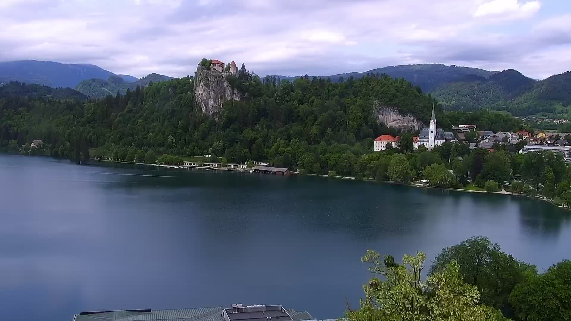 Webcam Bled: Lake Bled