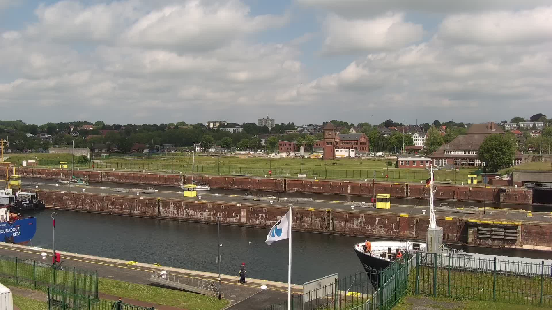 Webcam Kiel Holtenau