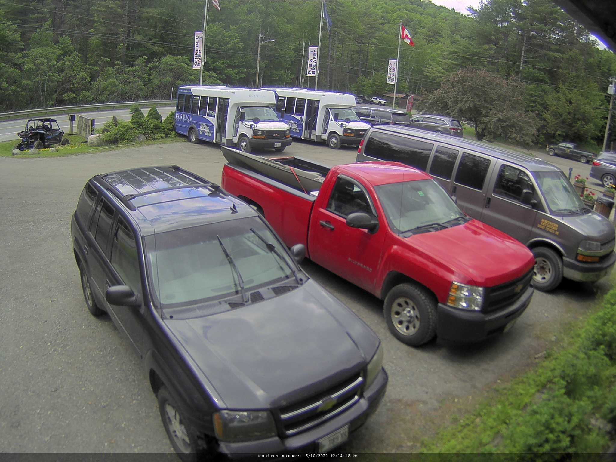 The Forks Maine Snowmobiling Northern Outdoors Adventure Resort Webcam Galore