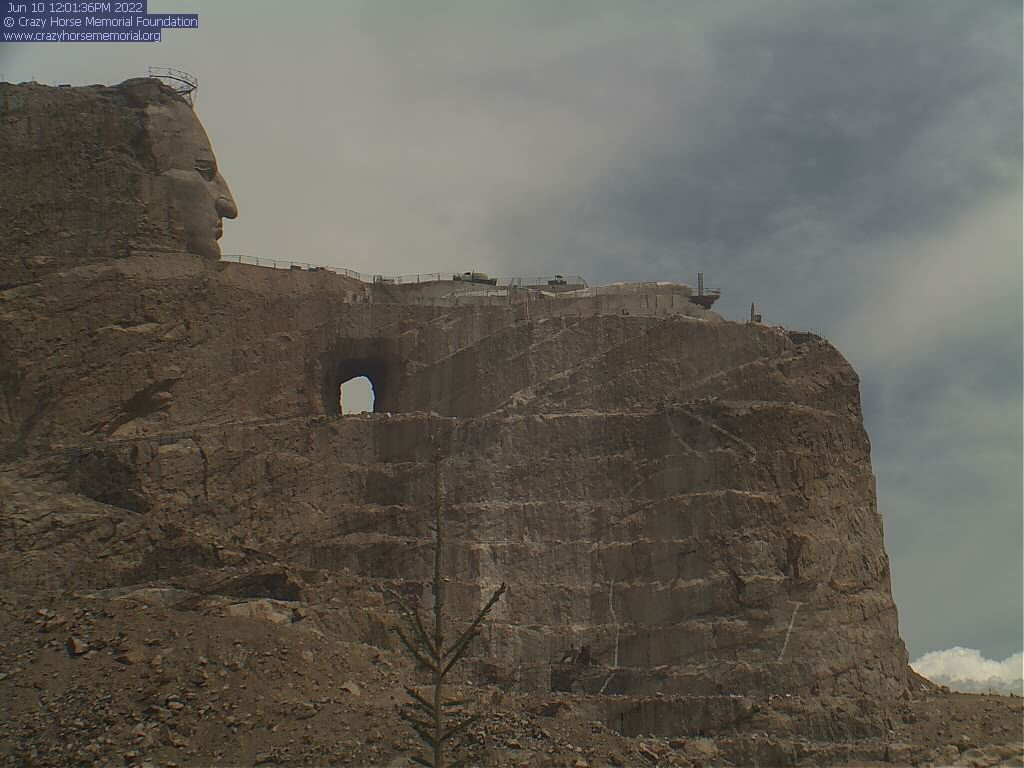 Crazy Horse Memorial South Dakota: Blick vom Laser