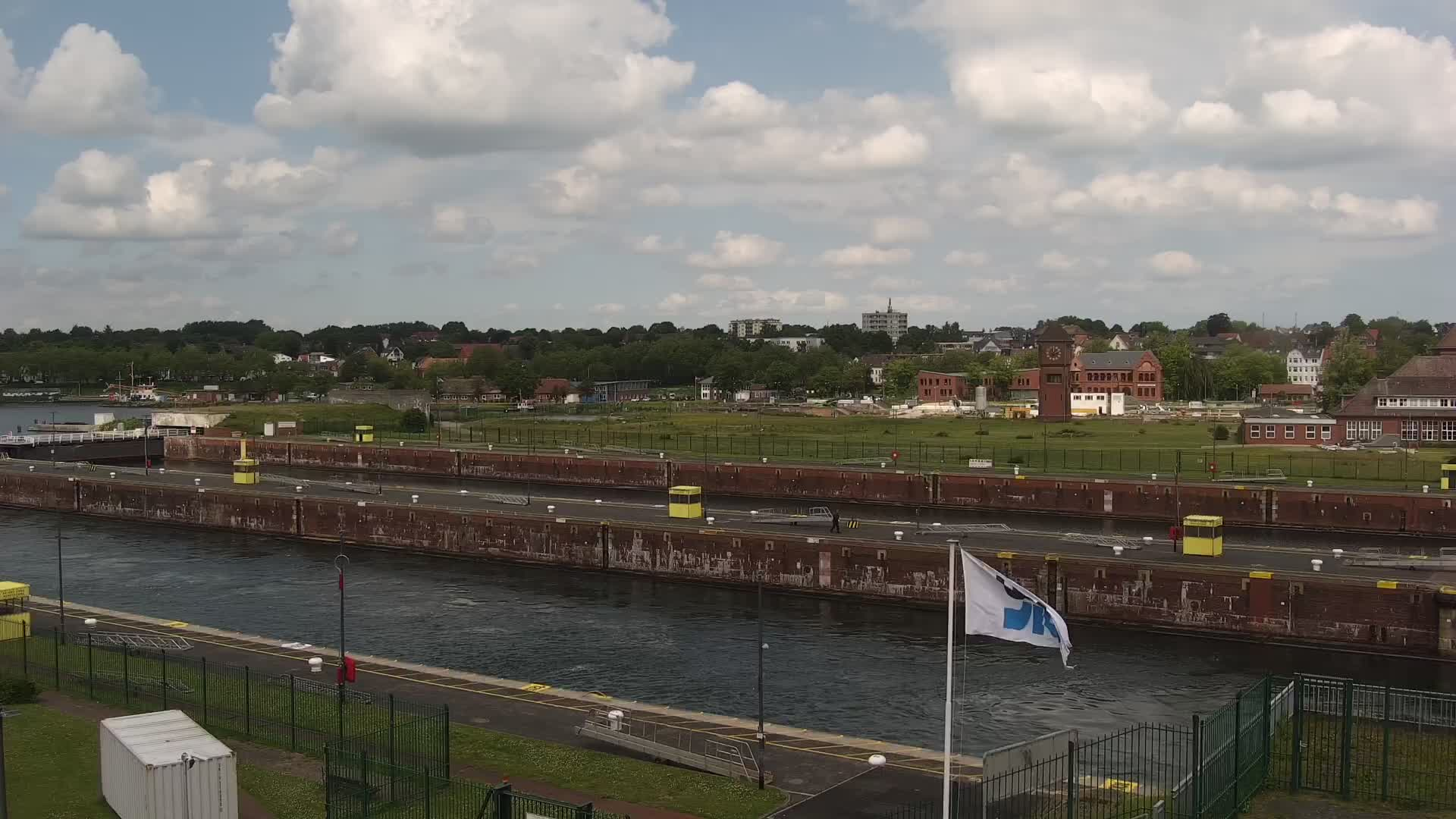 Webcam Kiel Holtenau Kanal Ausfahrt