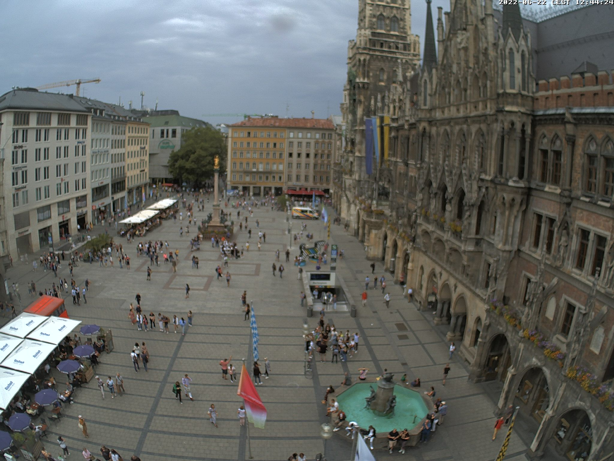 Webcam Marienplatz
