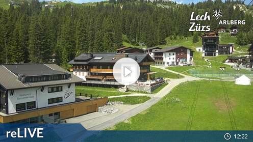 Webcam Oberlech: View of Oberlech