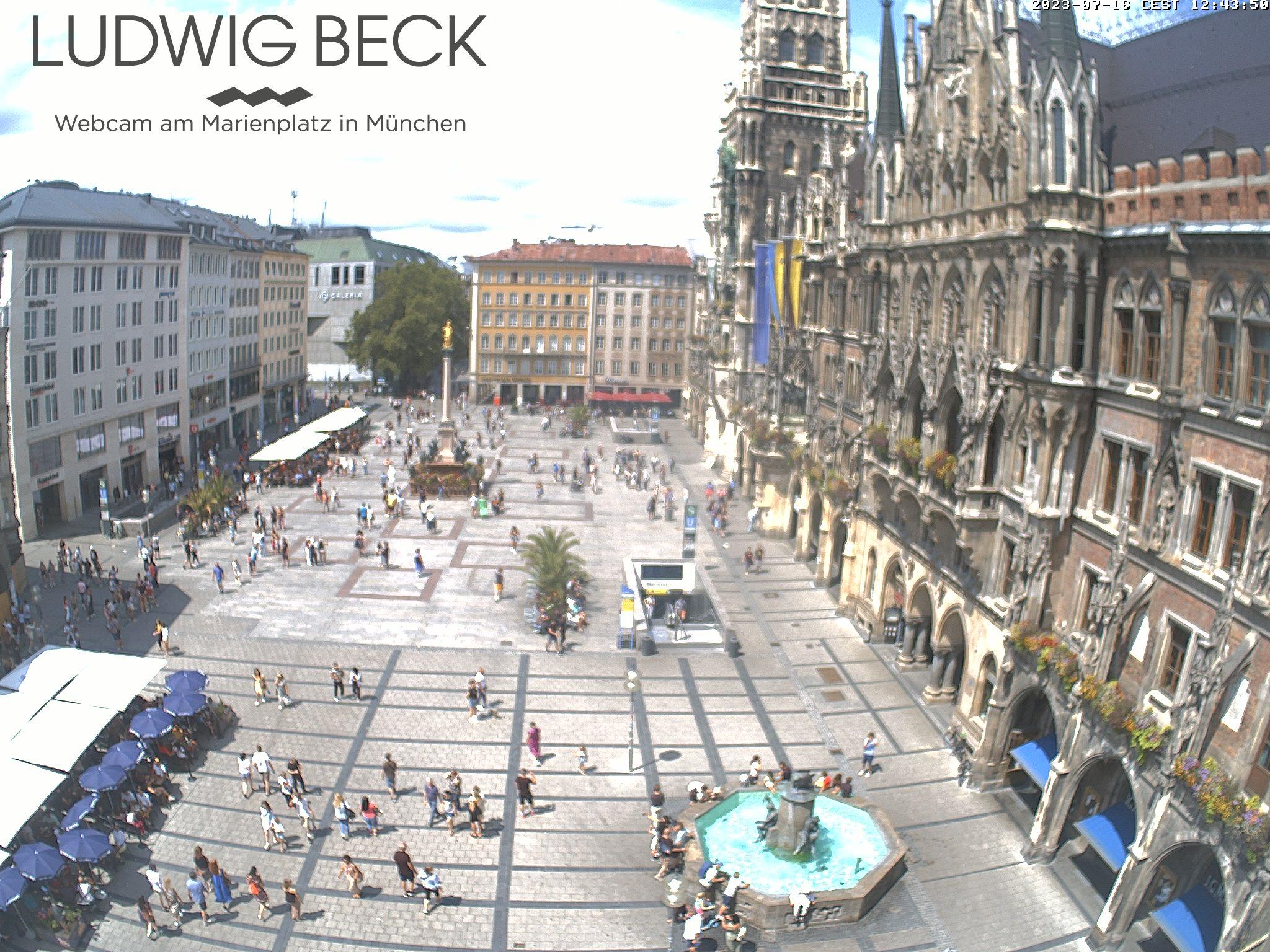 München Livecam Marienplatz