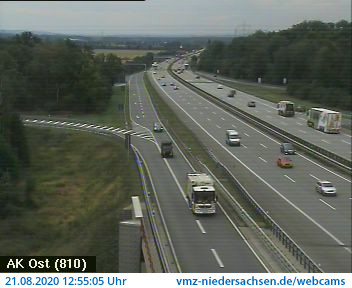 Webcam Autobahn A7