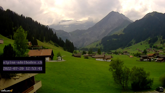 Webcam Adelboden Hotel Alpina - Hotel alpina adelboden