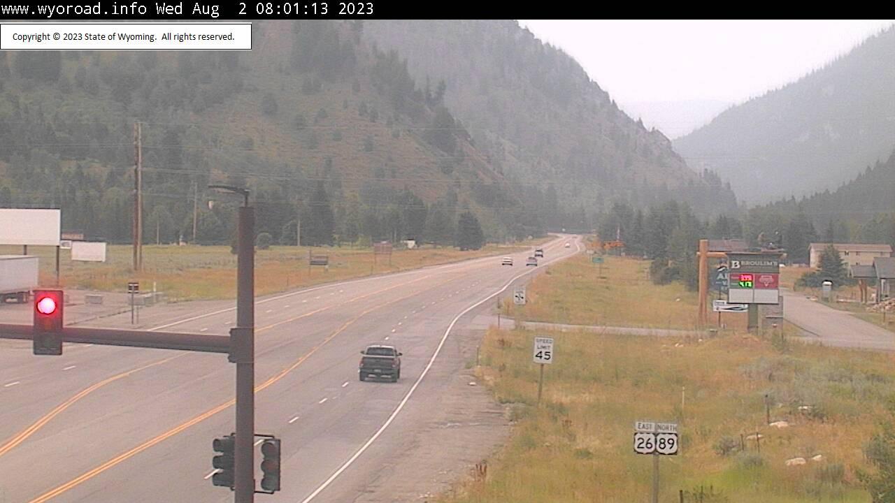 Alpine Junction, Wyoming Sun. 08:03