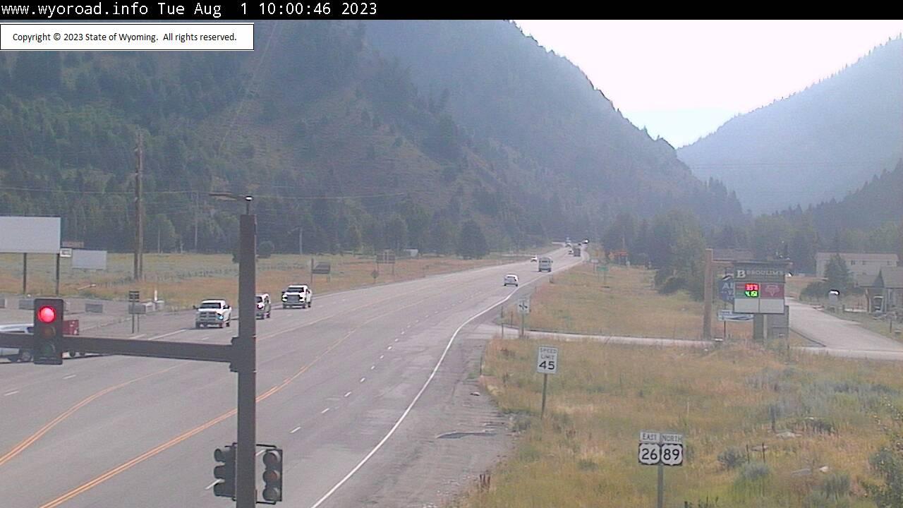 Alpine Junction, Wyoming Sun. 10:03