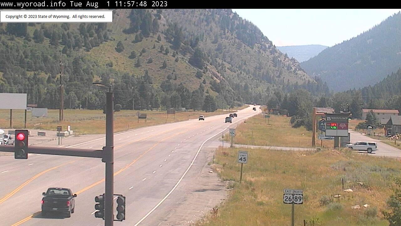 Alpine Junction, Wyoming Sun. 12:03