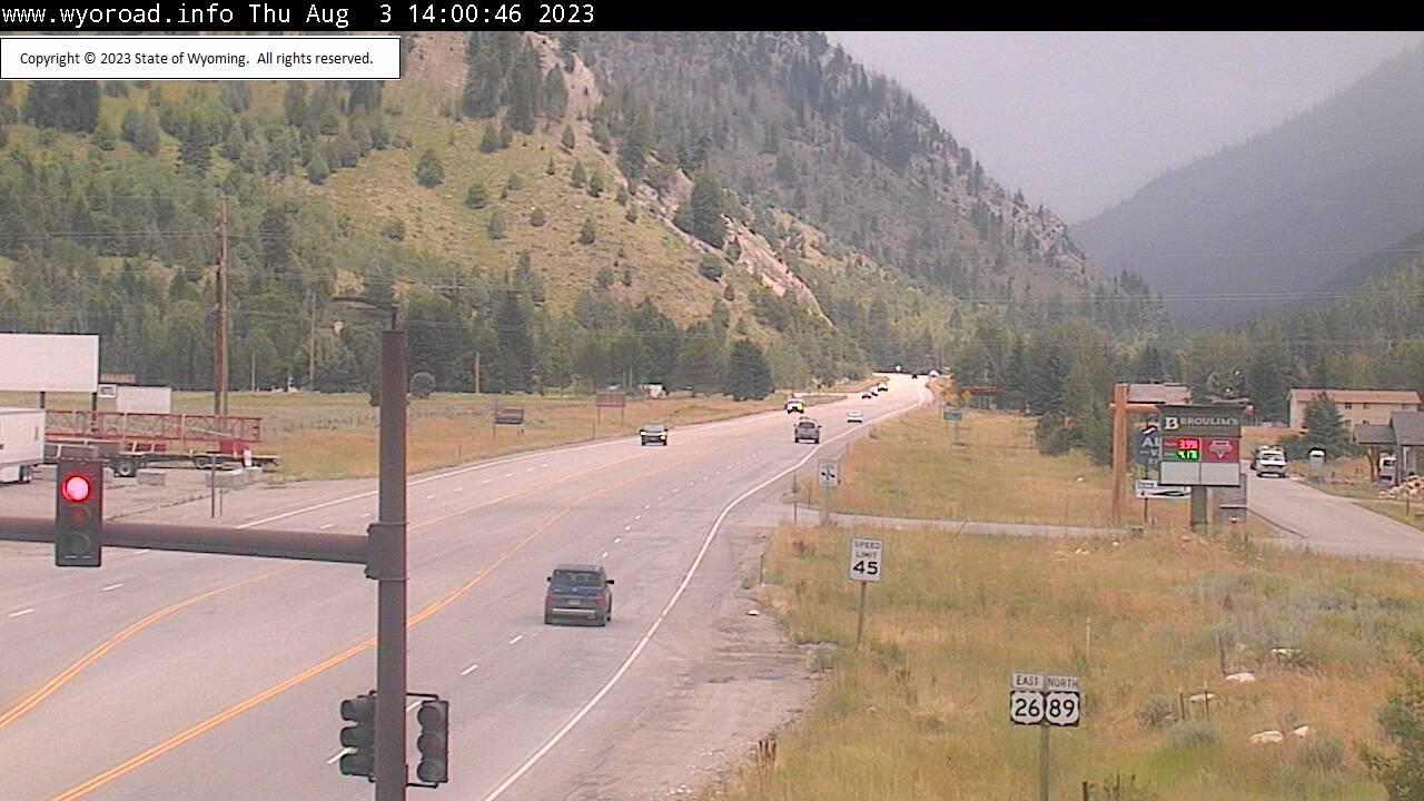 Alpine Junction, Wyoming Sun. 14:03