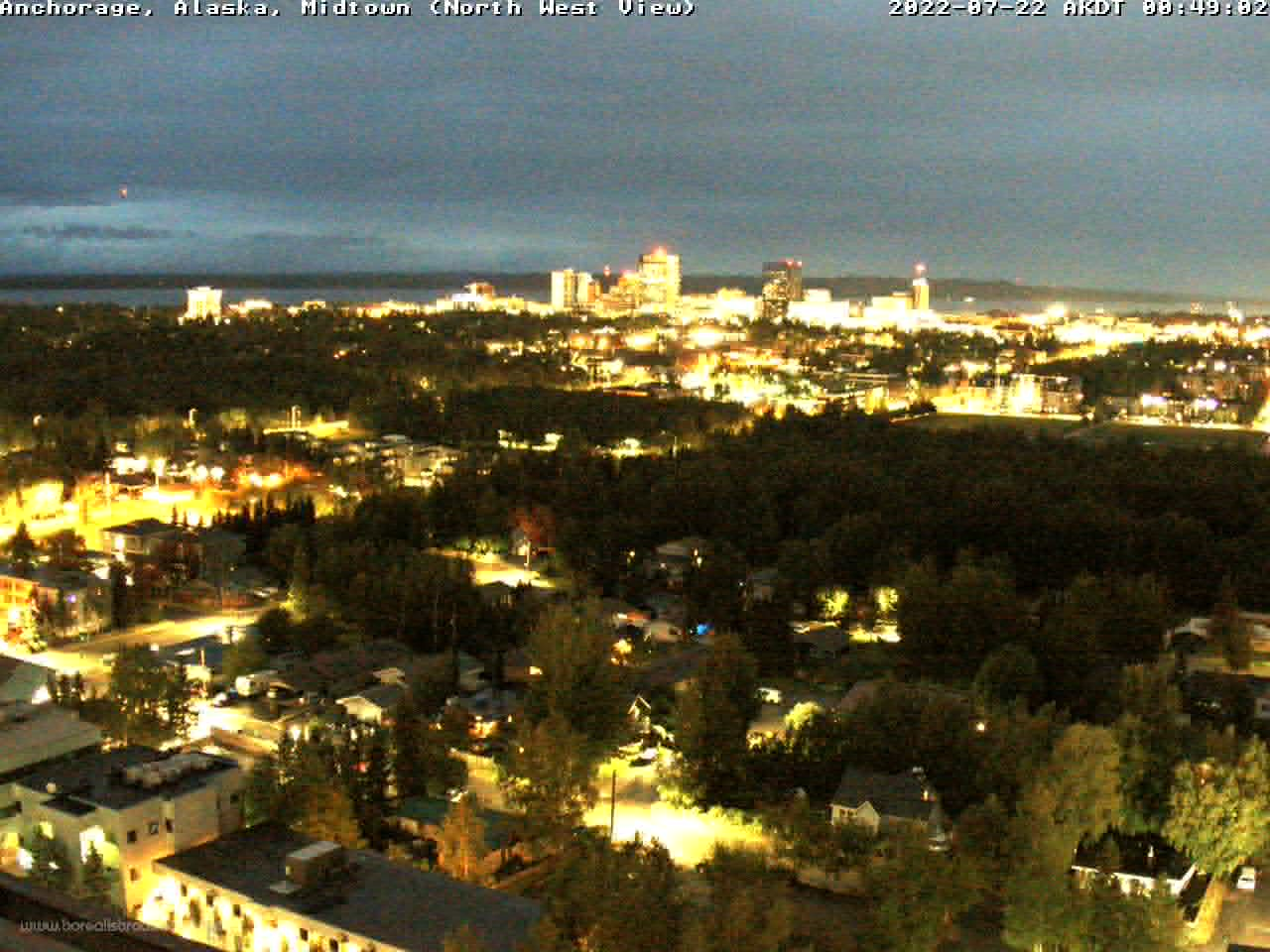 Anchorage, Alaska Fri. 00:49