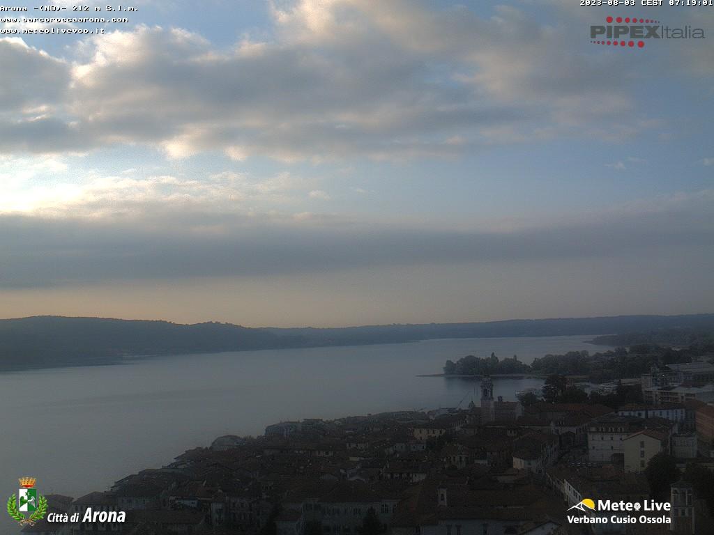 Webcam arona lago maggiore arona e lago maggiore - Arona web camera ...