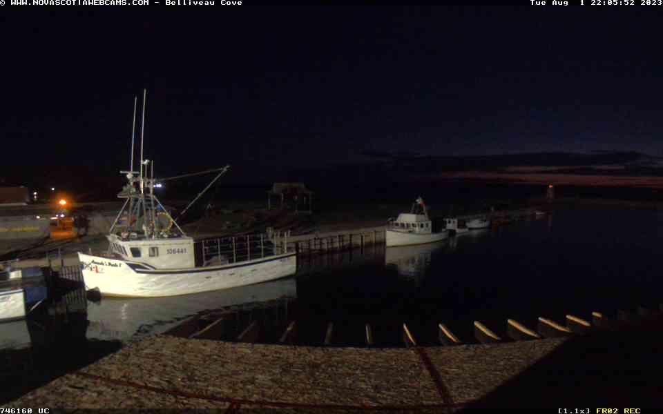 Belliveaus Cove Mon. 22:05