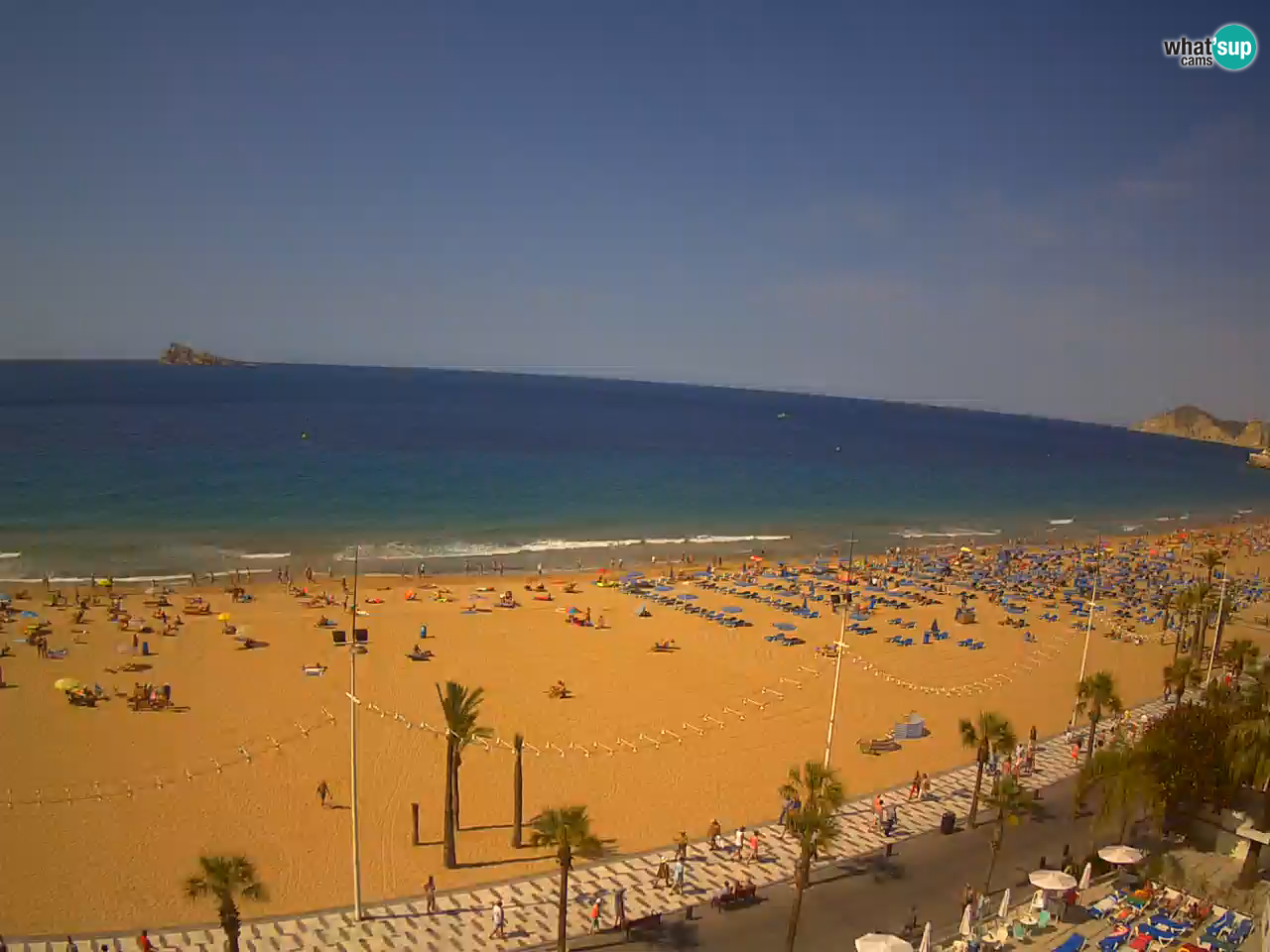 webcam benidorm spanien playa levante. Black Bedroom Furniture Sets. Home Design Ideas