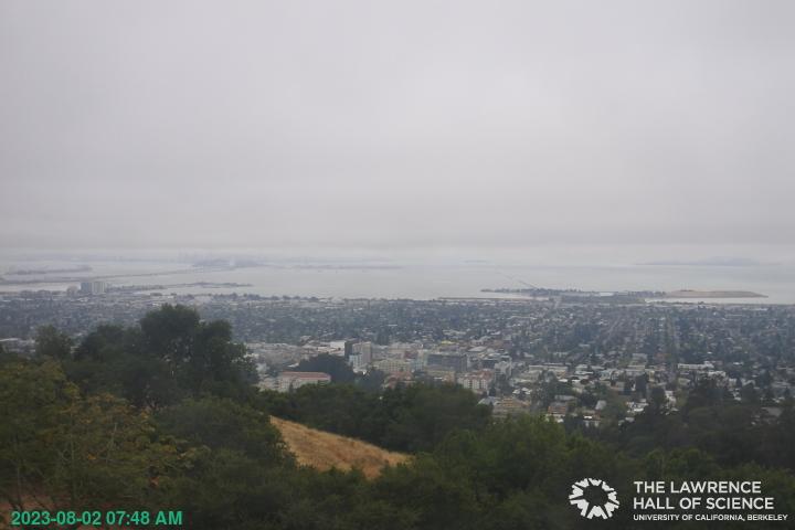Berkeley, California Mon. 07:49