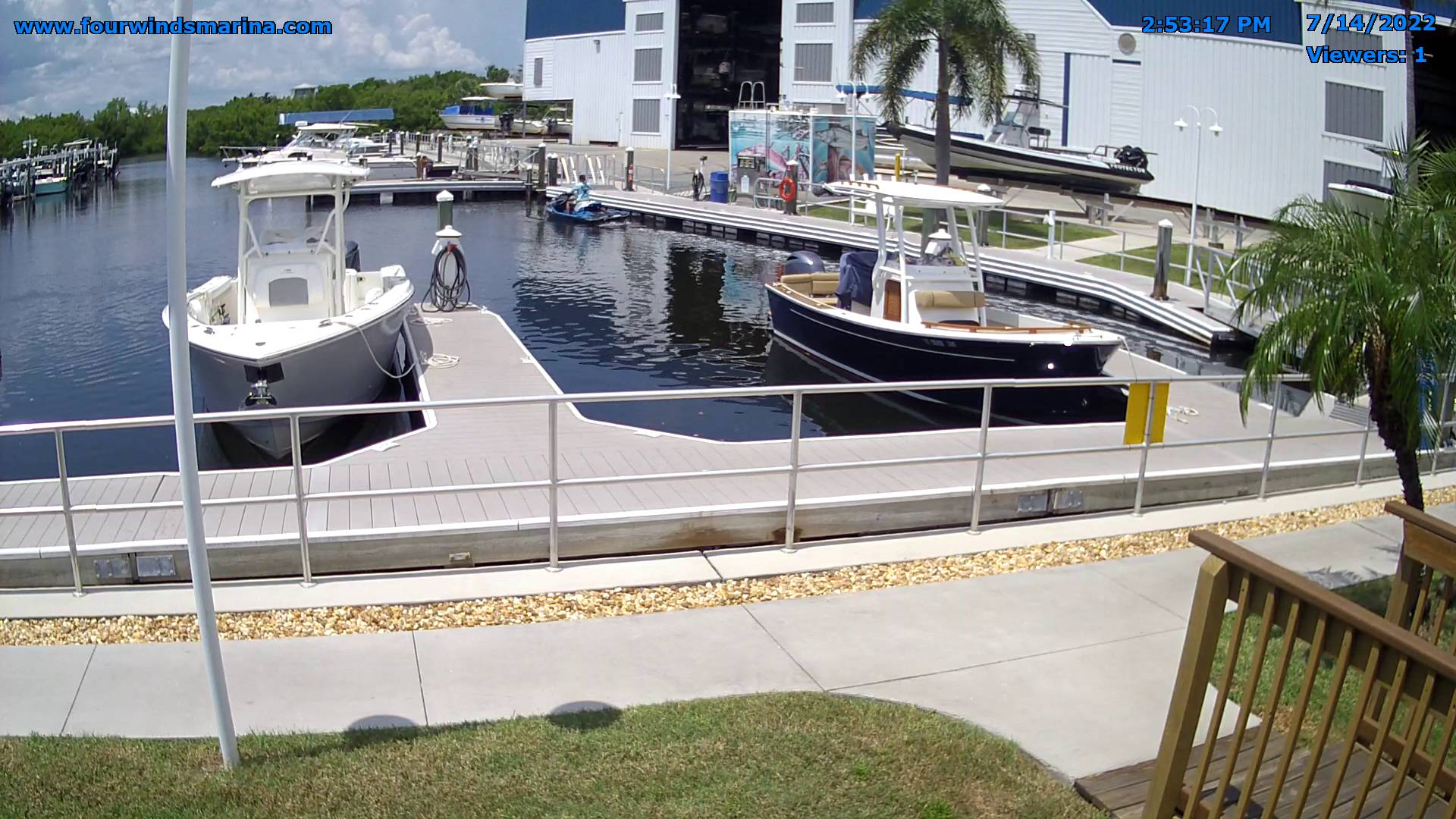 Webcam Bokeelia, Florida: Four Winds Marina