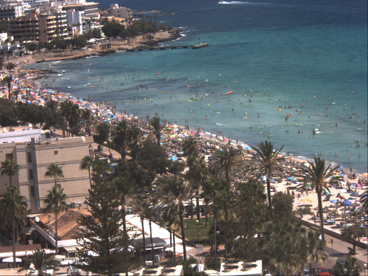 Live Webcam Cala Millor Majorca Beachview North