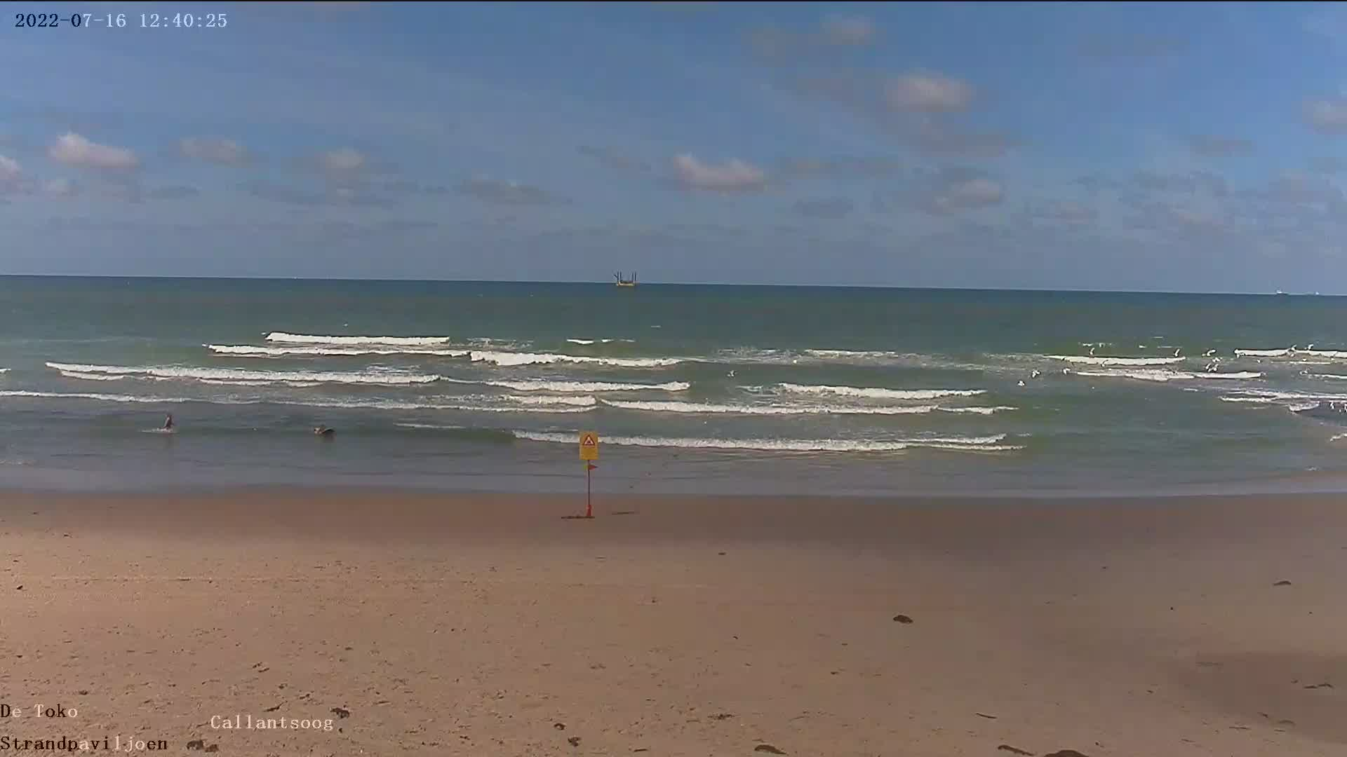 Webcam Callantsoog: HD Beach Panorama  Webcam Callants...