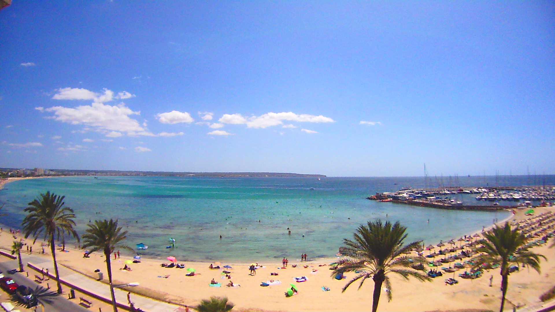 Can Pastilla (Mallorca): HD-Stream Strand - Webcam Galore