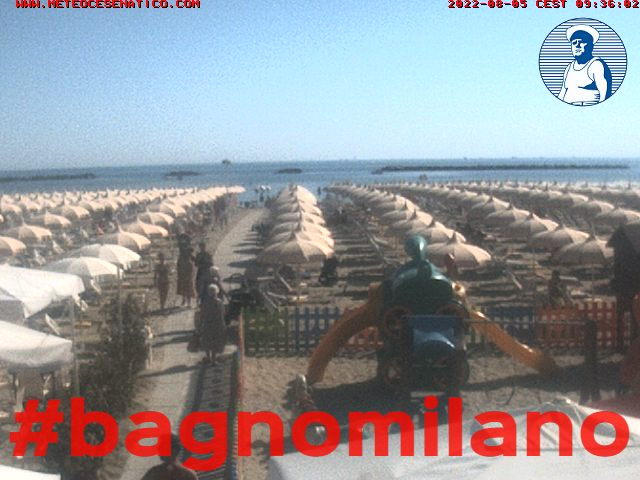 Beautiful Web Cam Cesenatico Bagno Milano Images - Idee ...