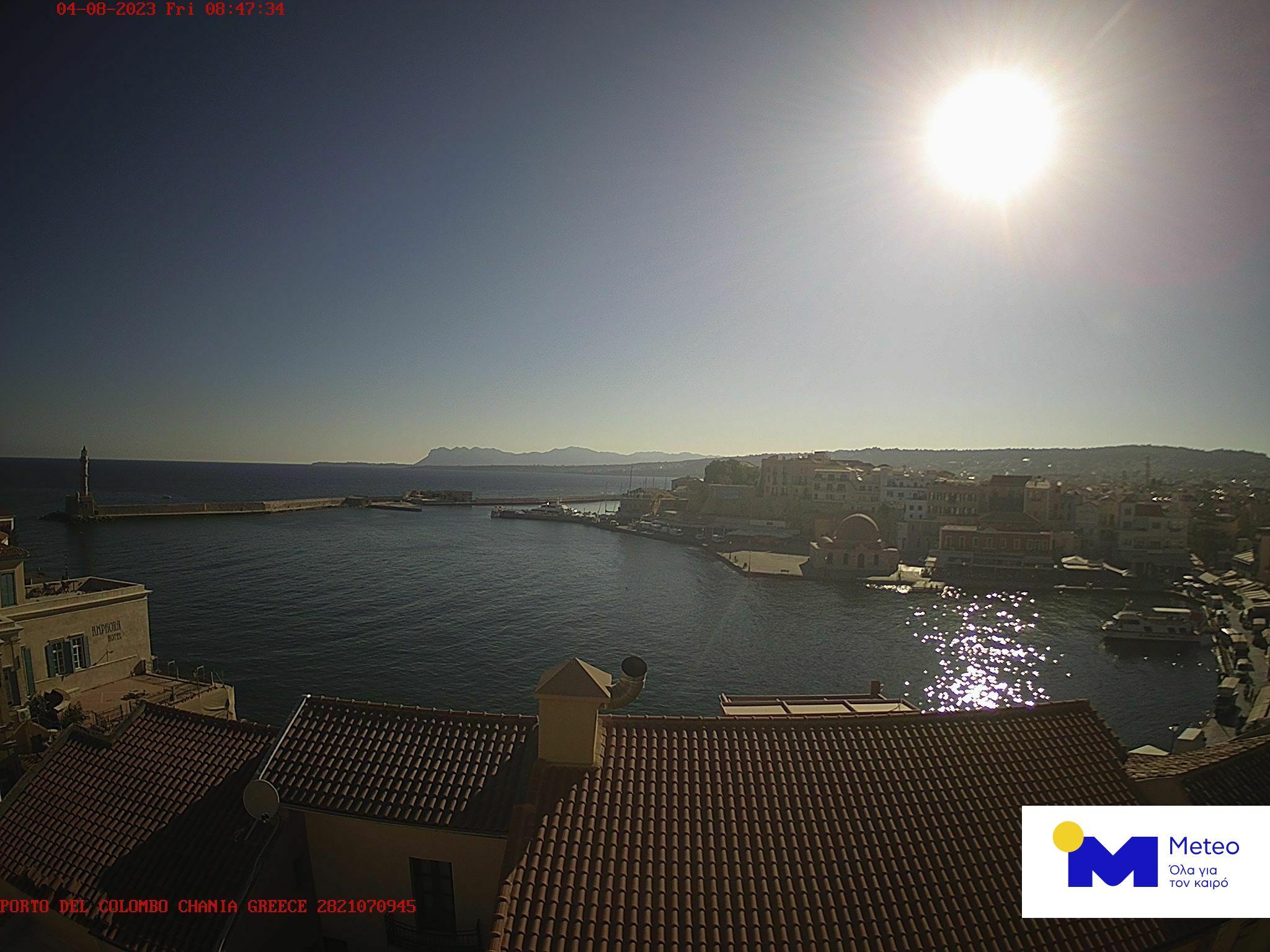 Chania (Crete) Mon. 08:51