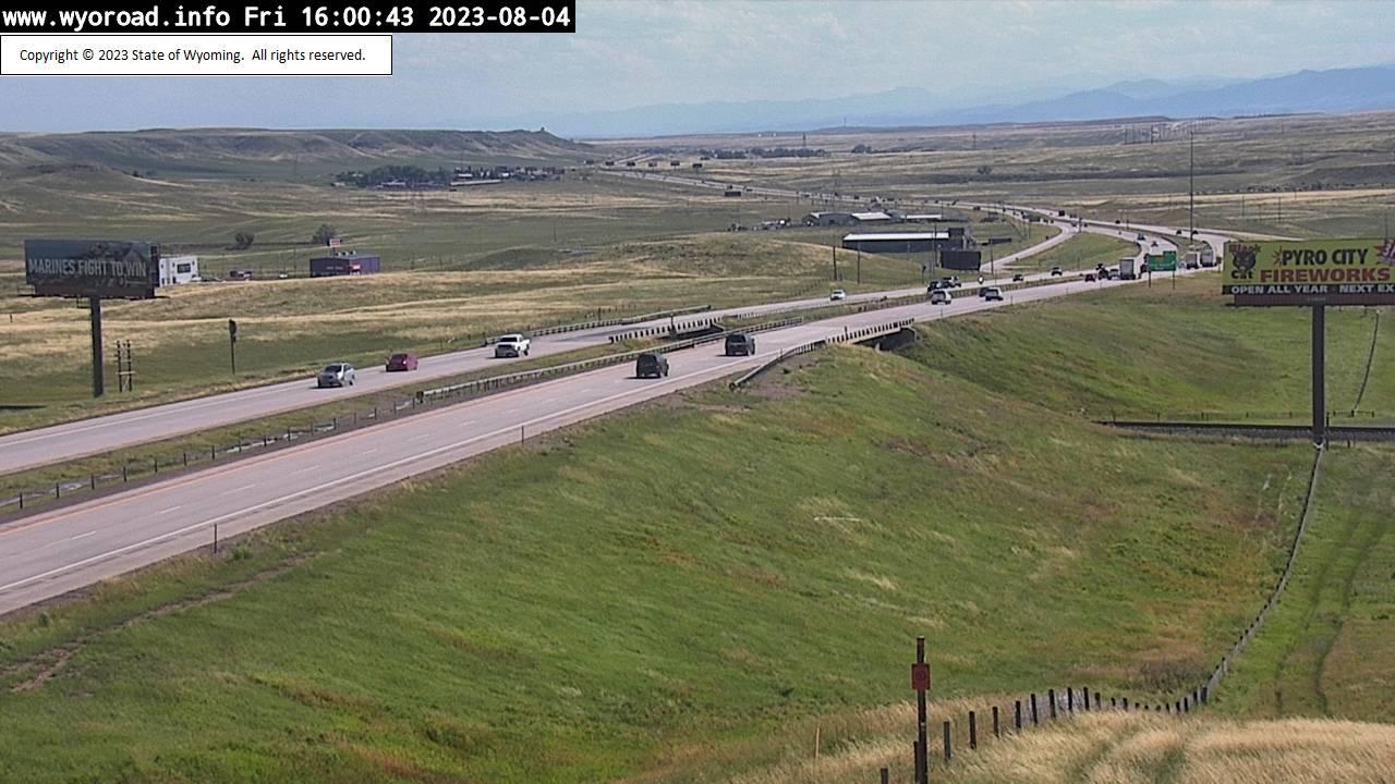 Cheyenne, Wyoming Sun. 16:03