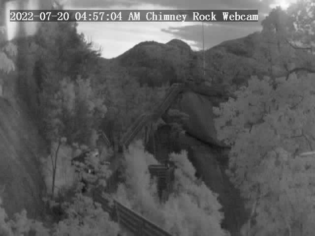 Chimney Rock, North Carolina Sat. 05:57