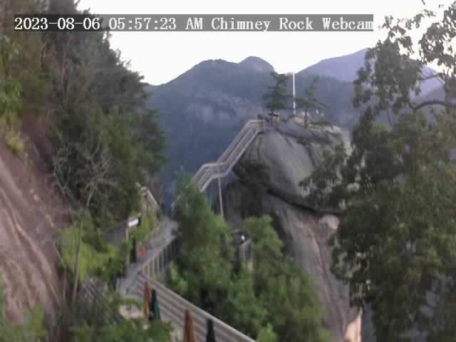 Chimney Rock, North Carolina Sat. 06:57