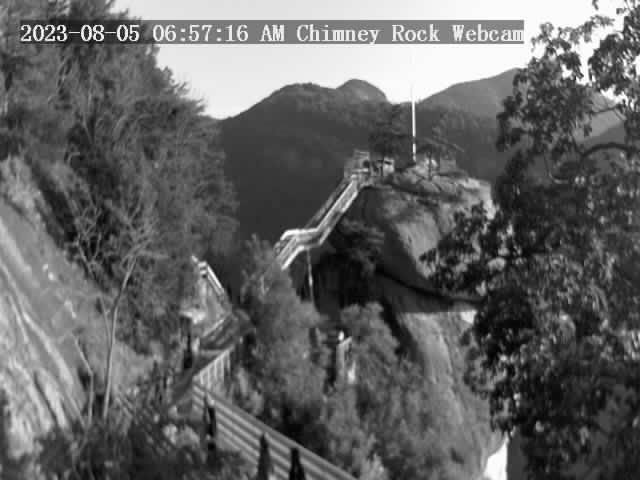 Chimney Rock, North Carolina Sat. 07:57
