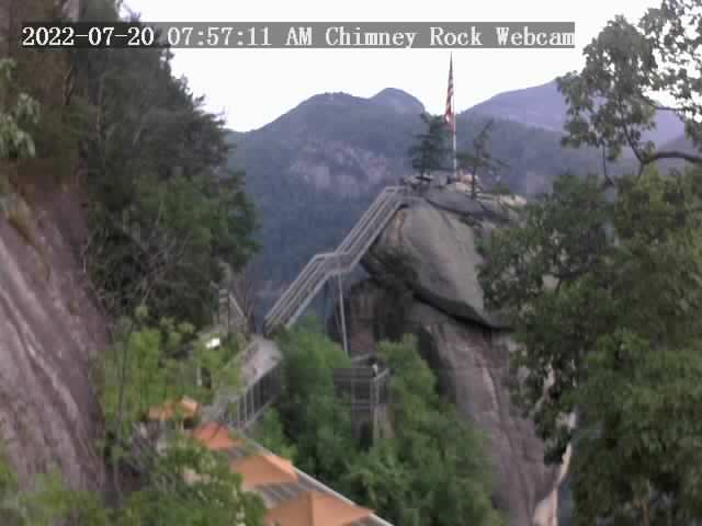 Chimney Rock, North Carolina Sat. 08:57