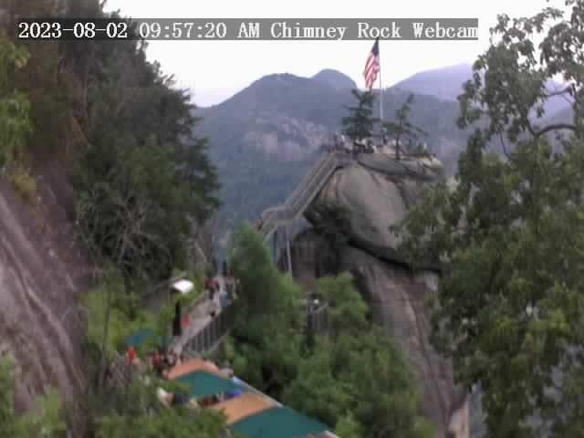 Chimney Rock, North Carolina Sat. 10:57