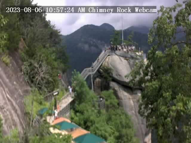 Chimney Rock, North Carolina Sat. 11:57