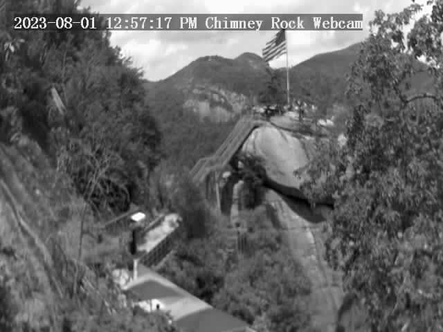 Chimney Rock, North Carolina Fri. 13:57